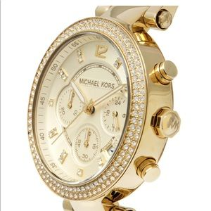 MICHAEL Michael Kors men's style gold watch